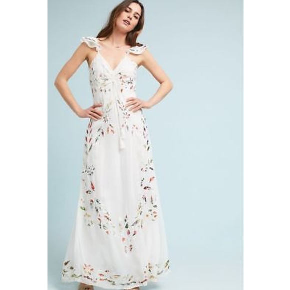 fb2d7a8aa62 NWT ANTHROPOLOGIE FARM RIO QUINTANA MAXI DRESS